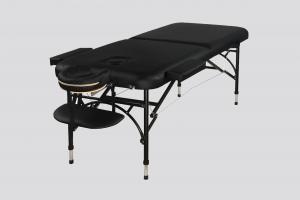 מיטת טיפולים מאלומיניום קורה עליונה צבע שחור - תמונת פרופיל